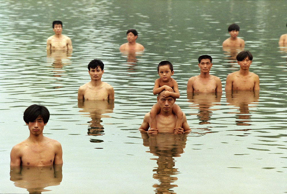 To Raise the Water Level in a Fishpond: performance, Beijing, China, 1997