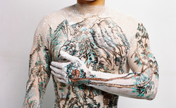 Chinese Shan-shui tattoo 9