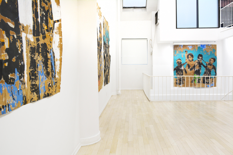 Installation Shot of Armand Boua Forgotten People