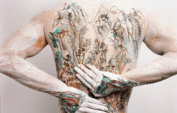 Chinese Shan-shui tattoo 2