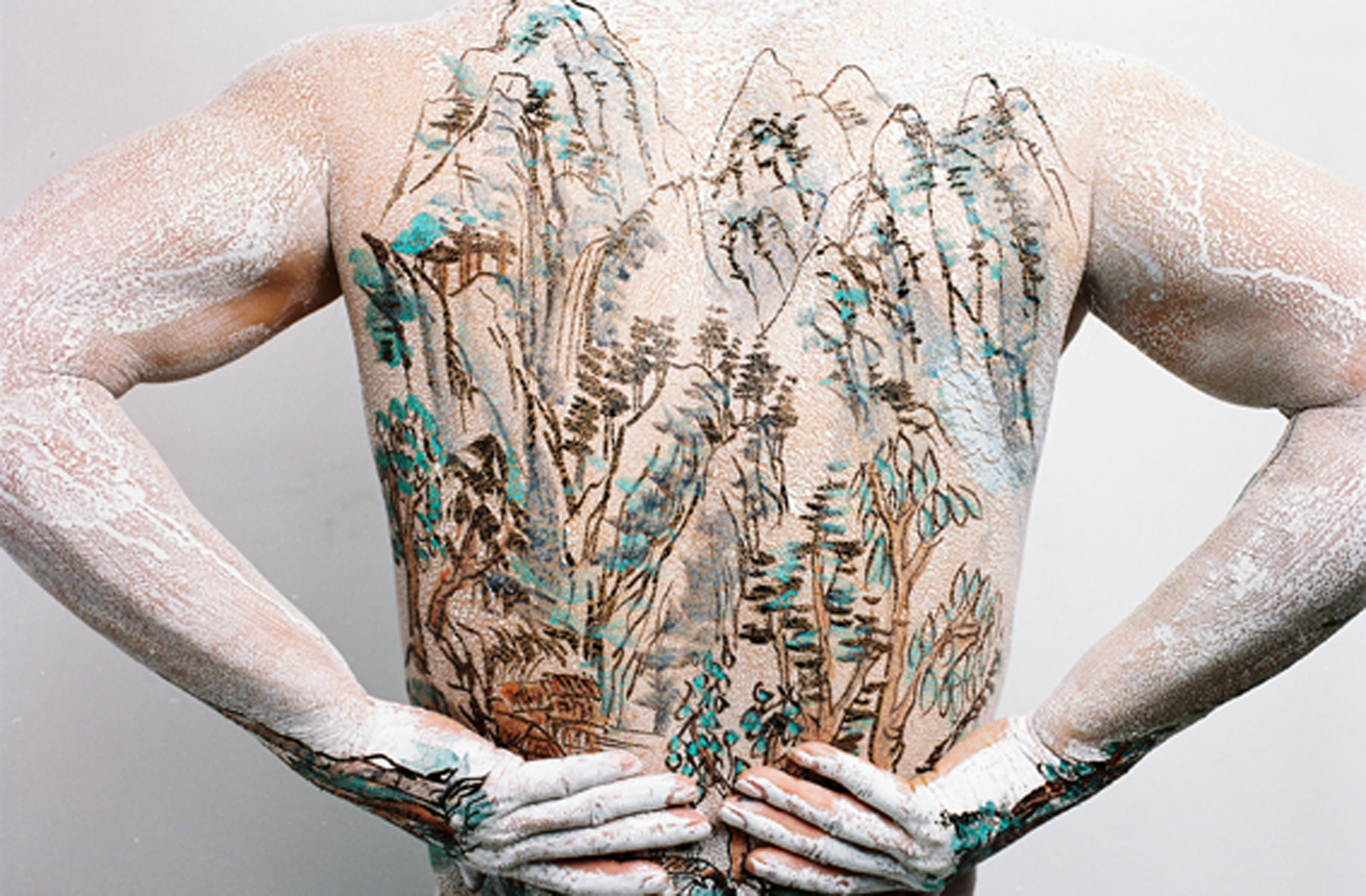 Chinese Shan-shui tattoo 5