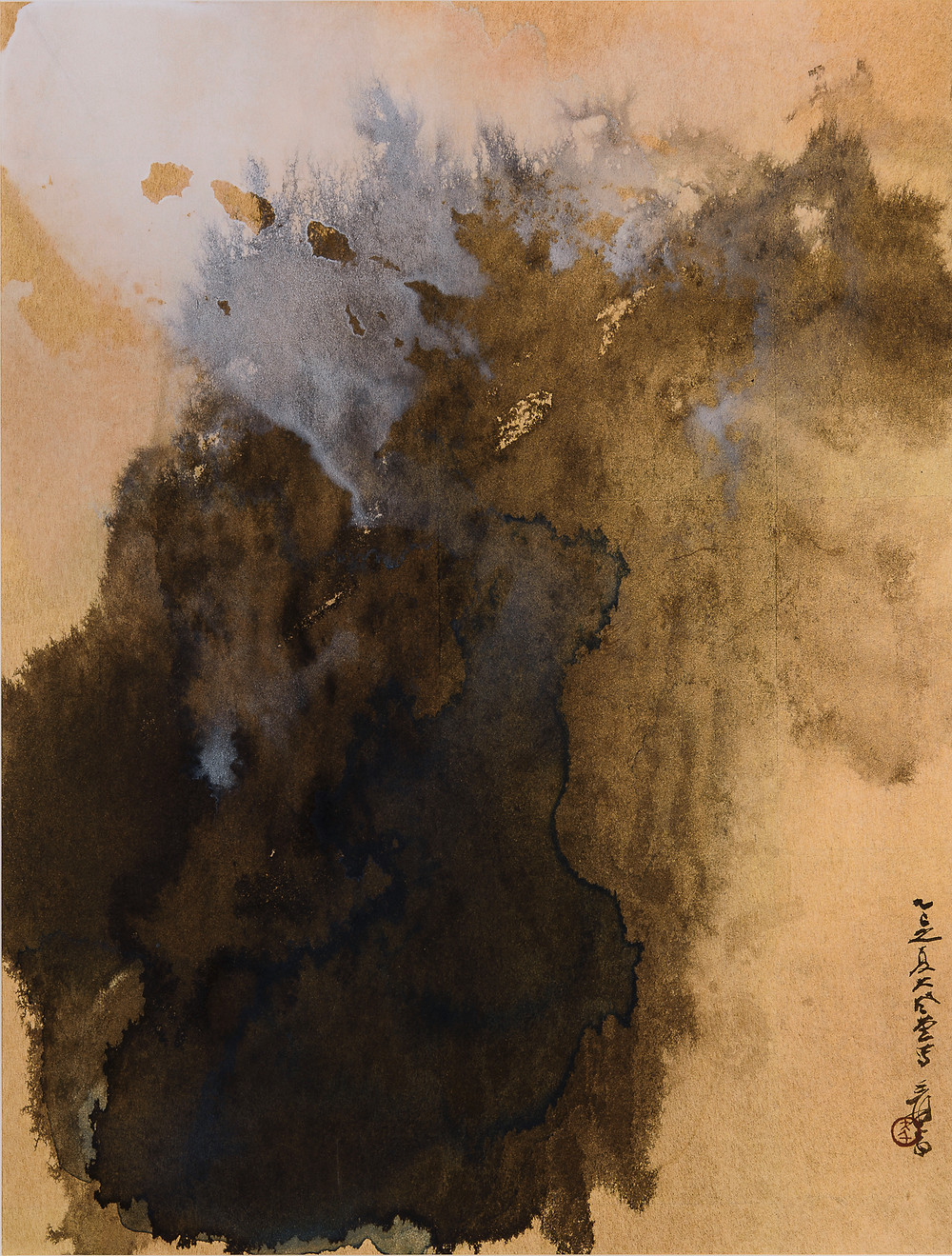 Zhang Daqian, Landscape, 1965. Collection of Peter and Collette Rothschild.