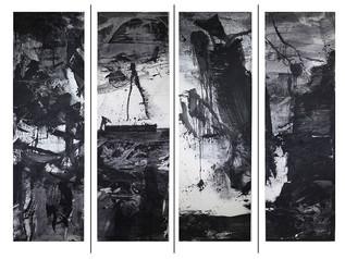 """Lan Zhenghui's new installation """"Ink Monument"""" debuts at Art Central Hong Kong"""