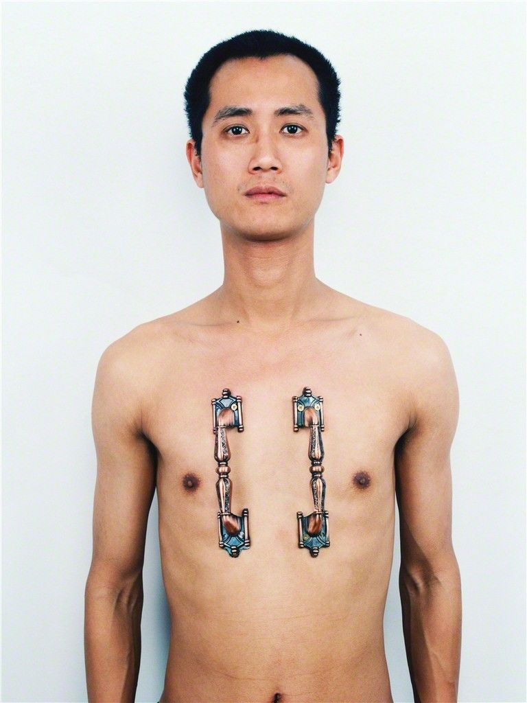 ​ ​  ​Qiu Zhijie The Tattoo Series, 1994 Ethan Cohen New York