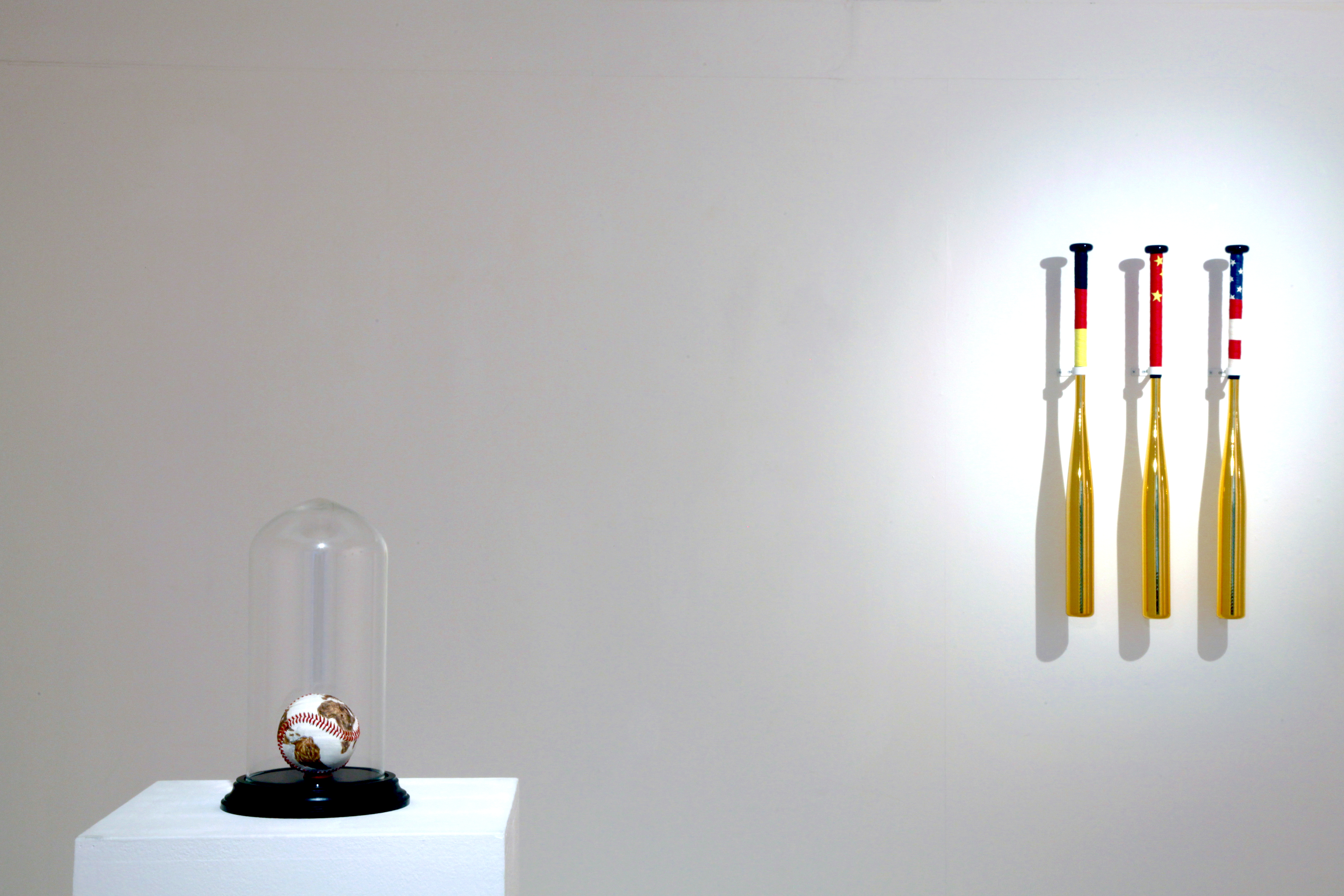The Catchers (Installation View)
