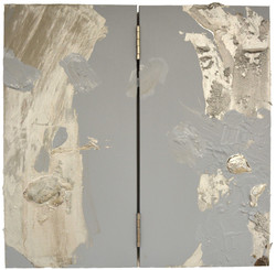Untitled (Silver Tar Painting)
