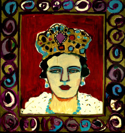 1_The-Qween_oil-on-canvas-(180x155cm)