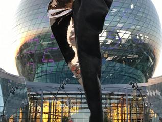 EXPO Astana, Kazakhstan. Andrew Rogers Unfurling Energy Unveiled