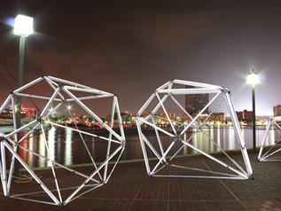 Diamonds Light Baltimore | Mina Cheon