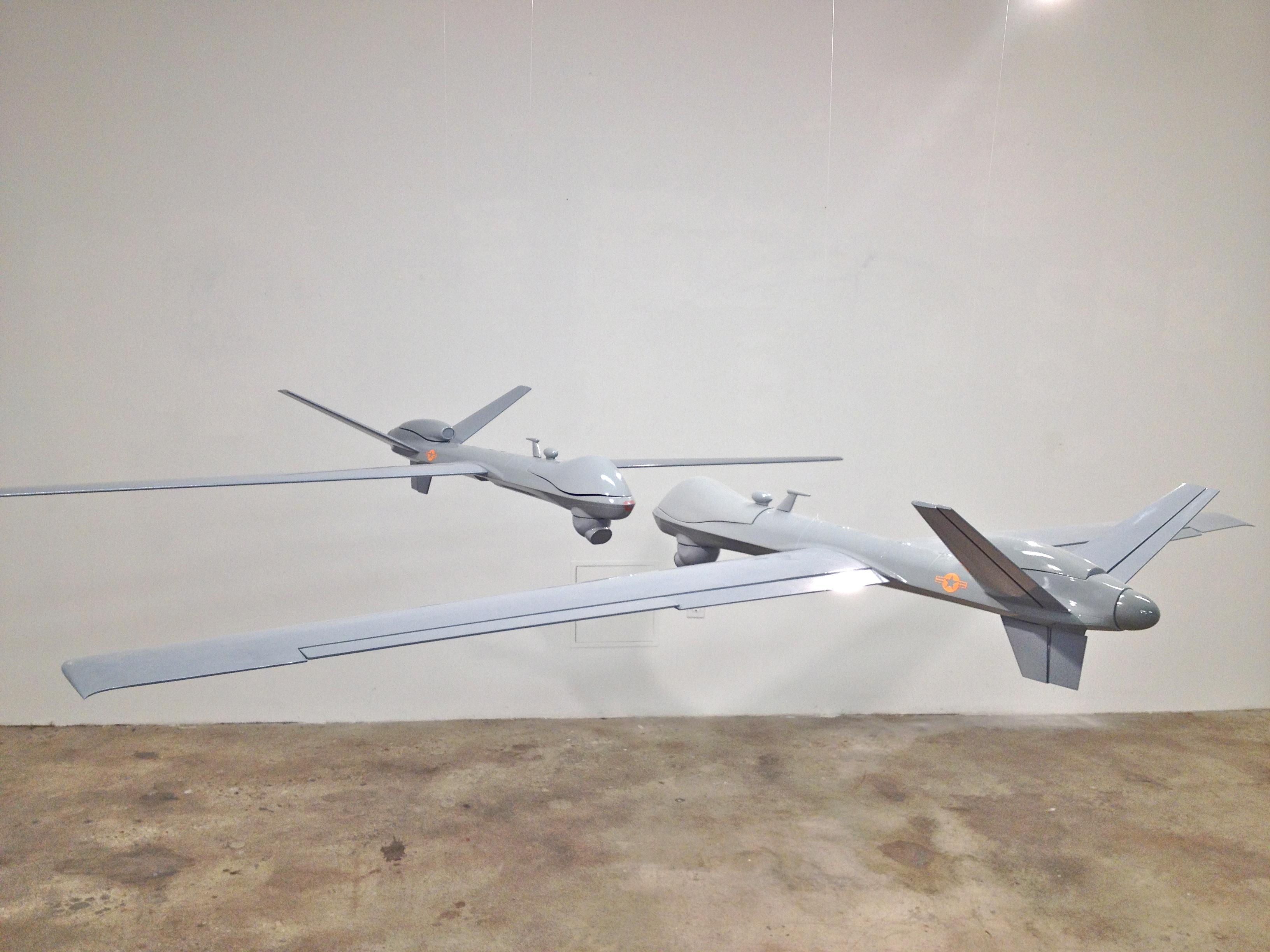 Drones Kissing