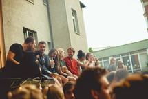 Unikat-Bühne beim Wiesenviertelfest 2018