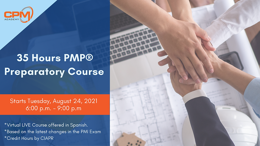 PMP 35 hours Preparatory Course