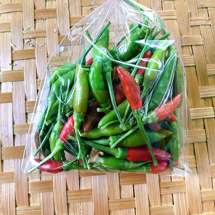 พริกขี้หนูสวน (80 กรัม)