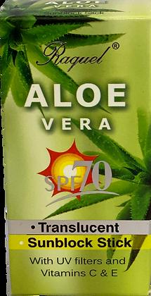 Bloqueador en barra Aloe