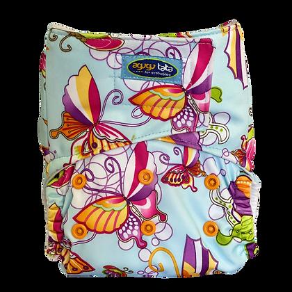 Pañal Estampado Mariposas