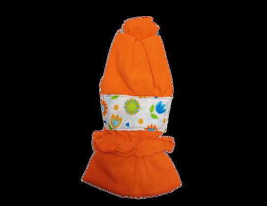 (Distribuidoras) Rebozo de Argollas Naranja