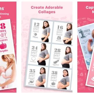Las nueve mejores aplicaciones para editar fotos de embarazo y recién nacidos