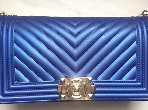 Blue (crossbody purse)