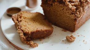 One-Bowl Pumpkin Streusel Bread