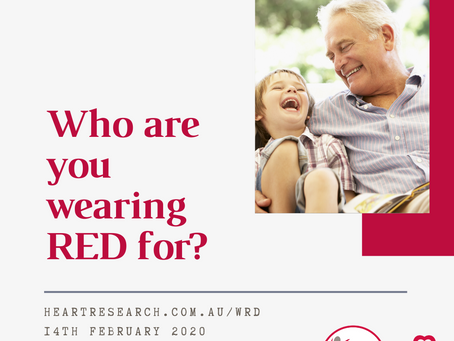 Who are you wearing RED for?