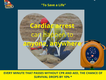 Do you have an AED at your workplace? If not, ask why not