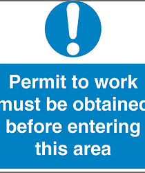 issue work permit, sign, training