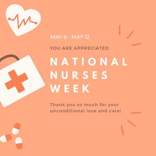 2019 National Nurses Week