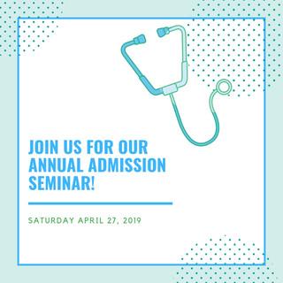 2019 Annual Admissions Seminar