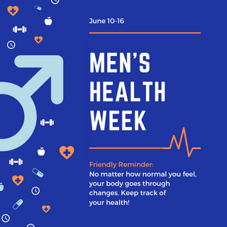 2019 Men's Health Week