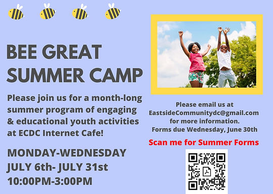 Internet Cafe's Bee Great Summer Camp Fl