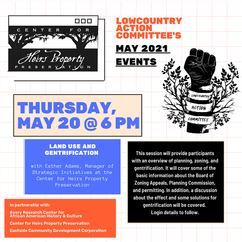 Land Use and Gentrification with the Center for Heirs Property Preservation