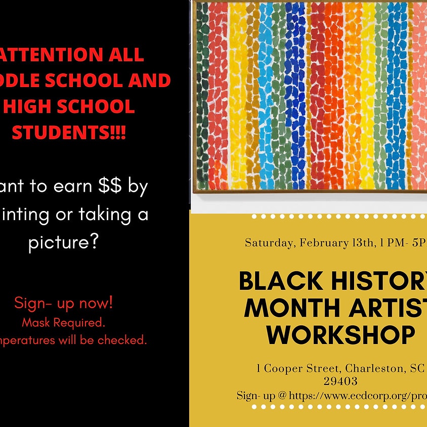 Black History Month Artist Workshop