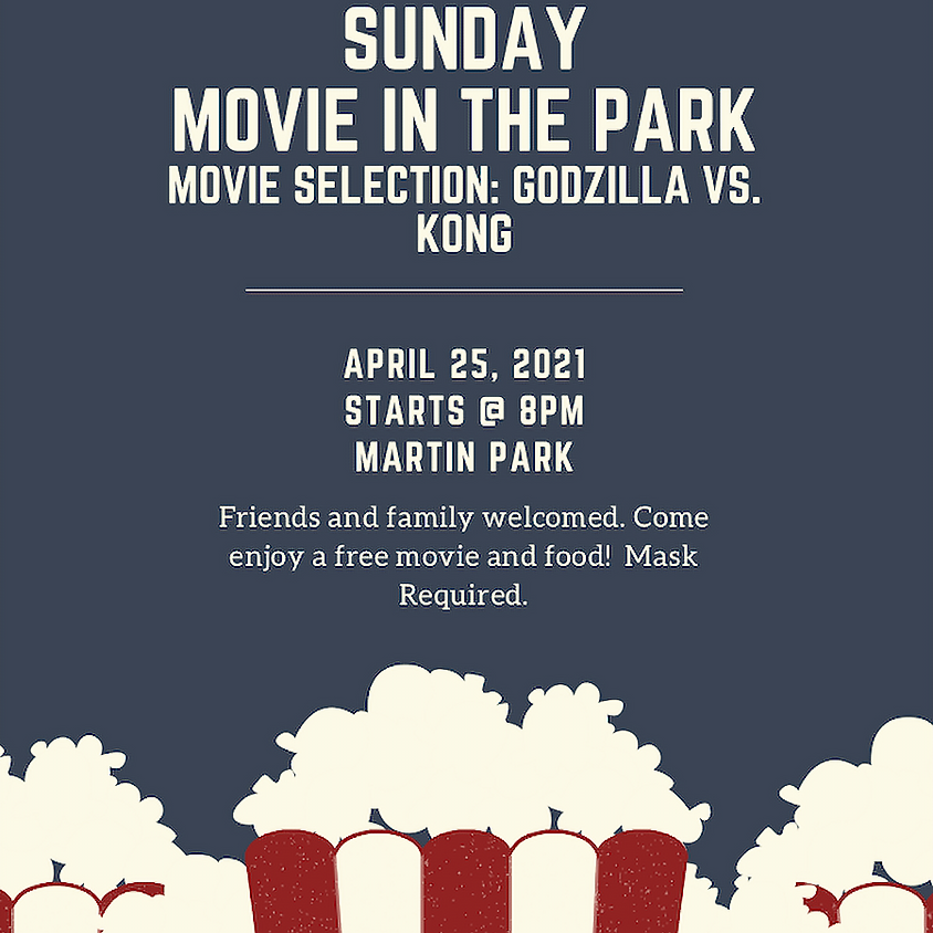 Sunday Movie in the Park