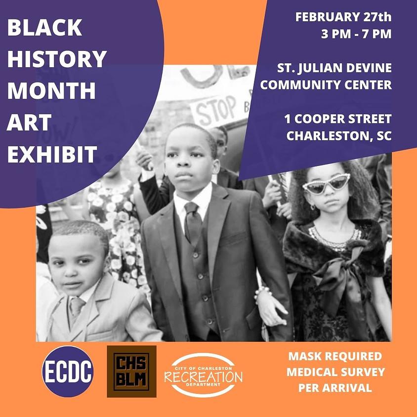 Black History Month Art Exhibit