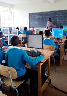 Primary computer classroom