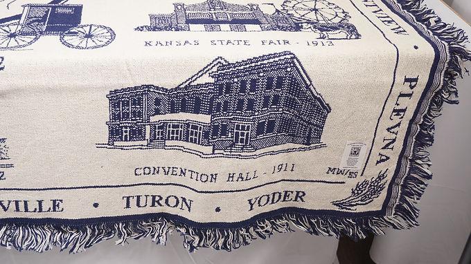 Advertising Blanket Of Reno County Kansas