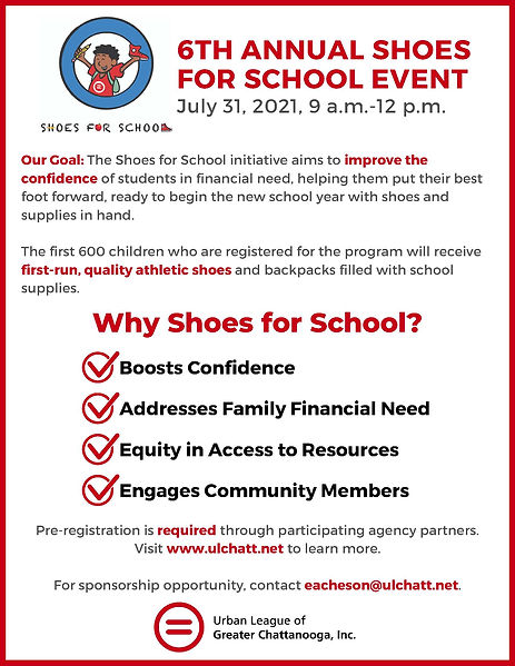 Shoes for School Event Information and S