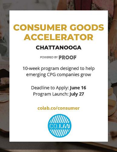 CoLab Consumer Goods Accelerator Chattan