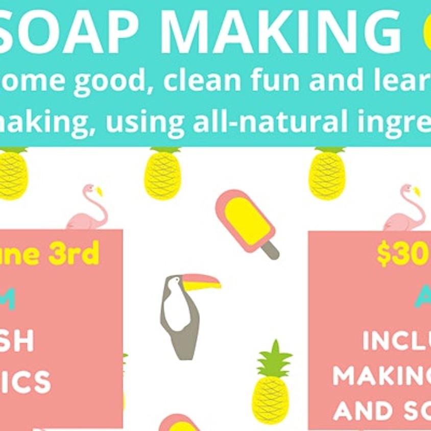 Kids Soap Making Class