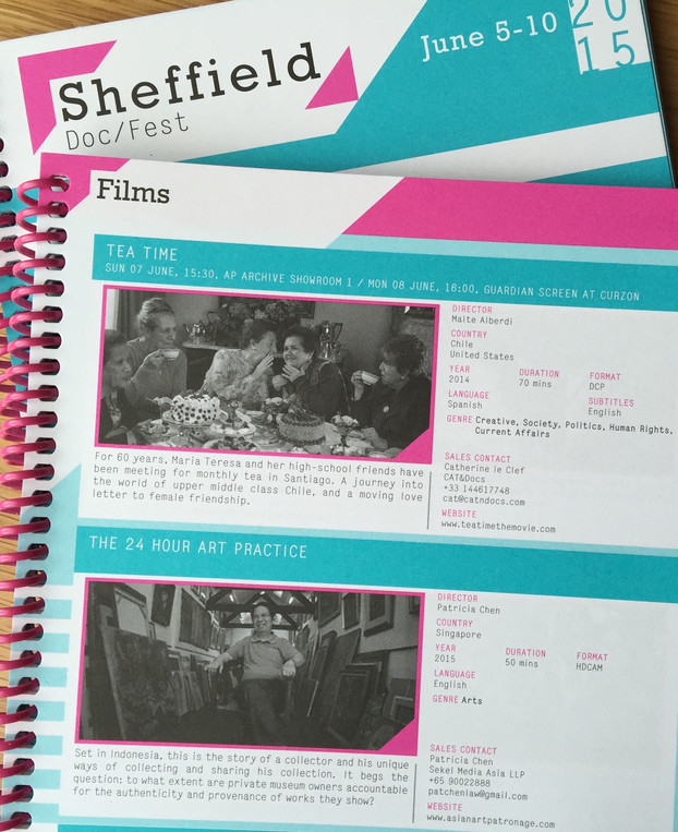 The 24-Hour Art Practice available at Sheffield Doc/Fest Videotheque