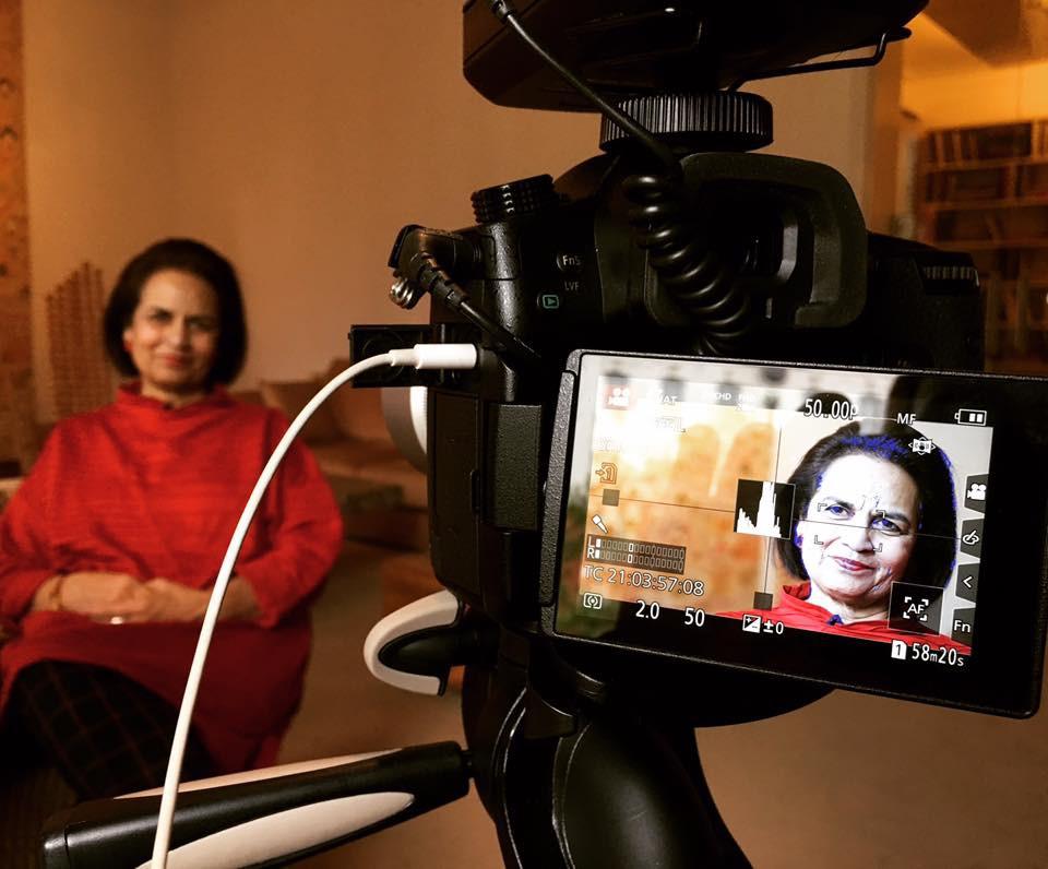 Lekha Poddar for Leading Patrons of Asian art