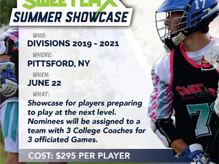 Sweetlax Lacrosse is proud to announce the 5th Annual Sweetlax Summer Showcase