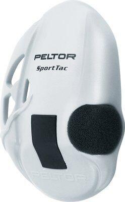 3M Peltor Sporttac White Replacement Earshells 210100-478-VI