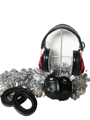 PELTOR SportTac Black&Red Christmas Bundle