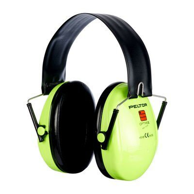 3M Peltor Optime 1 Hi-Viz Ear Defender H510A-470-GB