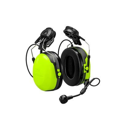 3M Peltor MT74H52P3E-111 CH-3 FLX2 Headset with PTT Helmet Attached