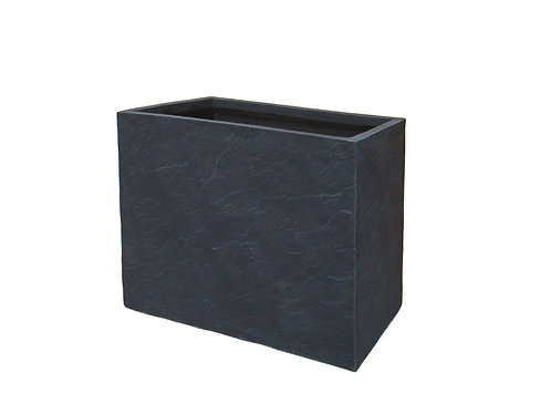 Naturaleza Rectangular Slate Stone Planter