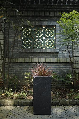 Naturaleza Square Slate Stone Planter