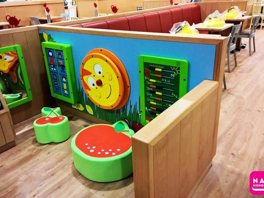 Mängunurk kohvikus või restoranis suurendab käivet ja klientide arvu