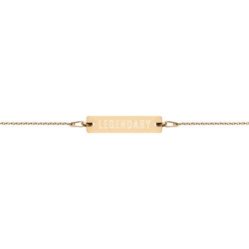 Made for Legends: Bar Chain Bracelet